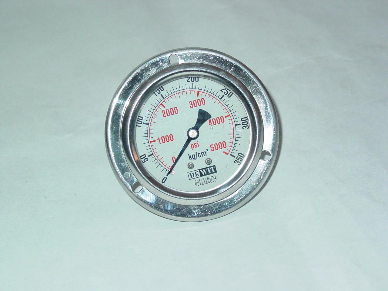 """Wika manómetro 0-10 bar conexión abajo g1//4/"""" diámetro 63mm"""
